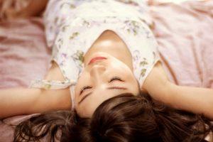 マツエク中におすすめの仰向けで寝ること