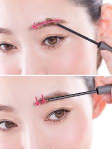 ナチュラル系女子のための眉毛の形と色