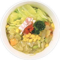 生理痛コンビニで買える食べ物野菜スープ