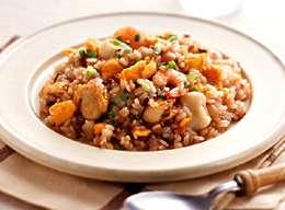 十六穀米の味噌シーフードチャーハン