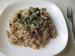 十六穀米のきのこリゾット